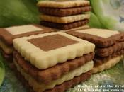 Biscuits bicolores two-colored cookies galletas