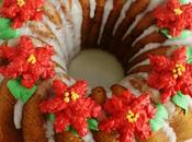 Bundt Cake Camote, Pisco Pecanas Flores Navideñas Butterceram