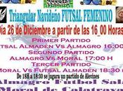 Triangular Navideño Fútbol Sala Femenino Almadén
