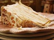 Crepes lemon curd layer cake