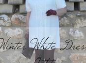 Vestido Blanco Invierno Look Curvy