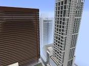 Réplica Minecraft: Rascacielos Brickell Avenue, Miami, Estados Unidos.