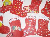 Diseños Botas Navidad cartulina para hacer peques casa.