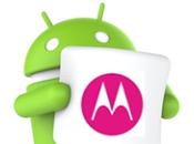 Motorola anuncia actualización reciente Android smartphones