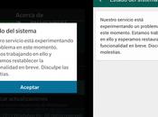servicio WhatsApp presenta caída nivel mundial
