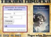 """GANADORES SORTEO EJEMPLARES """"DIAMANTE AZUL"""", Care Santos, Sorteo Bienvenida Yincana Histórica"""