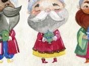 Dibujos Reyes Magos para colorear Line