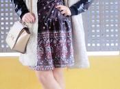 coat Floral dress