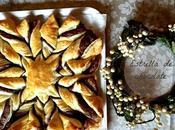 Estrella hojaldre chocolate para guiar Reyes Magos