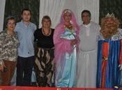 Grupo Joven Ntra. Sra. Ángeles trajo Gaspar para visitara niños necesitados.