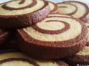 Galletas espiral vainilla chocolate