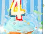 Cuarto cumpleaños...