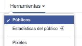 Creando Públicos Personalizados Facebook
