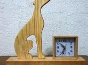 Proyecto: Reloj decorativo silueta Galgo