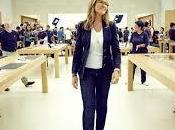 Angela Ahrendts, única mujer equipo Apple gana Cook