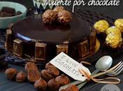 Tarta muerte chocolate death layer cake