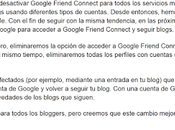 Google gracieta quitarnos seguidores