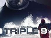 "Nueve pósters caracterizados protas ""triple"
