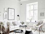 Serenidad blanco impoluto pequeño estudio sueco