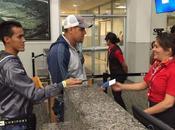 Primer grupo cubanos Guatemala rumbo México