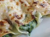 Canelones florentina. receta ovolacteavegetariana.