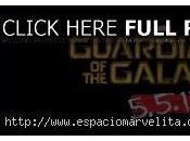Guardianes Galaxia Vol. tiene borrador final terminado