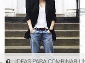 ideas para combinar blazer negro