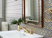 Inspiración semana: Papel pintado baño