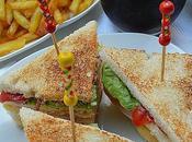 Sándwich Club estilo Vips