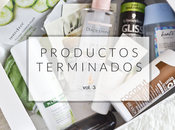 Productos terminados vol.