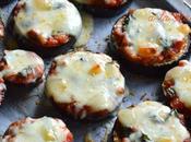 Mini Pizzas Berenjena