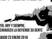 Ayer, siempre, Zaragoza defiende gente