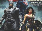 "Batman, superman wonder woman portada revista ""famous monsters filmland"""