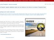 revista Libre participa como medio colaborador Transporte News Radio