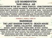 cartel Primavera Sound 2016. Radiohead, Suede Tame Impala, como cabezas