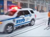 Esquiando Calles como Casey aprovecha nevada [Video]