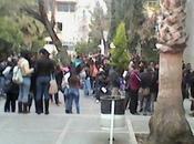 Estudiantes UASLP protestan