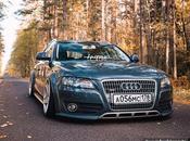 Audi Allroad stance desde Rusia. Miedo alturas