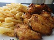 Alitas pollo fritas