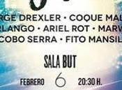 Jorge Drexler, Coque Malla, Marlango, Ariel Marwan, concierto benéfico Madrid