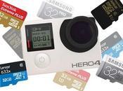 Guía mejores tarjetas Micro para cámaras GoPro
