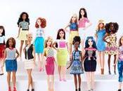Barbie diversifica nuevos tipos cuerpo