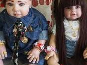 Muñecas poseídas espíritus, última moda Tailandia