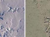 Ruinas antigua ciudad encontrados antártida