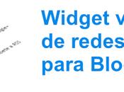 Widget vertical redes sociales para Blogger