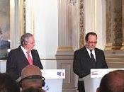 Declaración conjunta François Hollande Raúl Castro video]