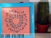 Bordado Valentín (patrón gratuito) Valentine's free pattern embroidery