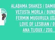 Alabama Shakes, Damien Rice, Vetusta Morla Fermín Muguruza, Cruïlla Barcelona 2016