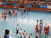 Movistar Inter jugado fútbol sala 2.300 escolares discapacitados Giras Megacracks Almonte, Moguer Jerez