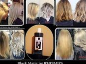 Champú negro para platinar cabello!